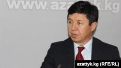 Кыргызстандын экономика министри Темир Сариев.