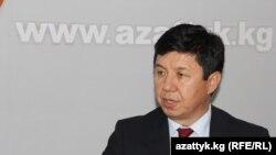 Қырғызстан премьер-министрі қызметіне ұсынылған экономика министрі міндетін уақытша атқарушы Темір Сариев.