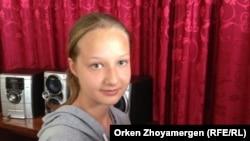 7-cынып оқушысы Ольга Вернигорова. Ақмола облысы, 17 маусым 2013 жыл.