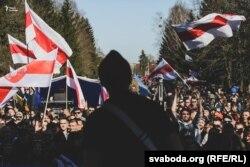 Юры Стыльскі на канцэрце да Дня Волі ў Горадні, 23 сакавіка
