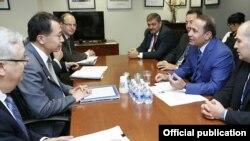 Հայաստանի վարչապետի և ՄՖԿ գլխավոր գործադիր տնօրենի հանդիպումը, լուսանկարը՝ Կառավարության տեղեկատվության և հասարակայնության հետ կապերի վարչության