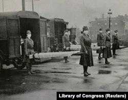 پاییز سال ۱۹۱۸، زمانی که در سنت لوئیس، در ایالت میسوری در جنوب آمریکا، آنفلوآنزای اسپانیایی شیوع آغاز کرد، مسئولان به این صرافت افتادند که تجمعها و مراسم عمومی را لغو و ممنوع کنند