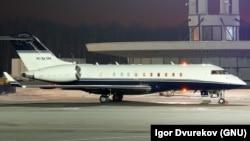 Прыватны самалёт Bombardier Global Express 5000