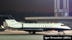 Bombardier Global Express 5000, которым, предположительно, пользуется Светлана Медведева.