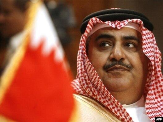 شیخ خالد بن احمد آل خلیفه، وزیر خارجه بحرین
