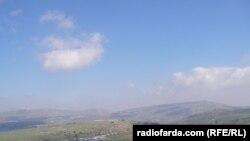 نمایی از روستای لبنانی «غجر» در مرز با اسرائیل (عکس: میترا فرهمند)