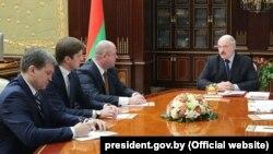 Патрабаваньне Лукашэнкі да СМІ, якое ня трапіла ў рэпартажы