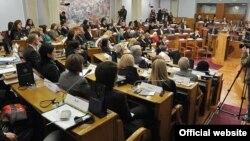 Žene u parlamentu Crne Gore na Međunarodni dan žena, 8. mart 2012.