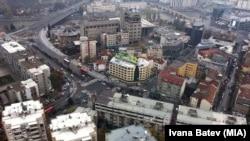Pamje e një pjese të qendrës së Shkupit