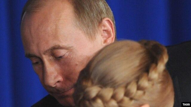 Владимир Путин и Юлия Тимошенко. Фото ИТАР-ТАСС