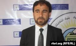 TEFA басшысы Наим Аюбзада. Кабул, 14 сәуір 2014 жыл.