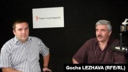 ირაკლი შავიშვილი (მარჯვნივ) და შოთა მურღულია