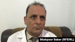 عارف جلالی، سرطبیب شفاخانه شفاخانه حوزوی هرات