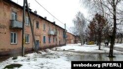 Характэрная забудова раёну, дзе школы