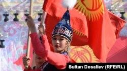 2018-жылы уюштурулган Эгемендик майрамында тартылган сүрөт. Бишкек шаары.