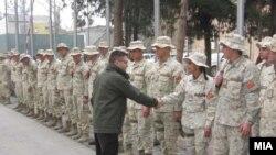 Қатори сарбозони нерӯҳои байналмилалии зери раҳбарии паймони НАТО дар Афғонистон (ISAF)
