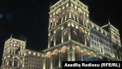 Баку. Иллюстрация