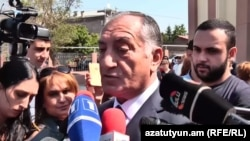Исполняющий обязанности мэра Еревана Камо Ареян, Ереван, 22 августа 2018 г.