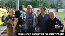Сярод спартовых журналістаў і знаўцаў футболу
