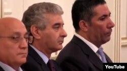 Hakim Yeni Azərbaycan Partiyasının liderləri