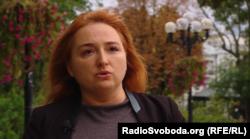 Дарка Оліфер, прес-секретар представника України в Мінську Леоніда Кучми