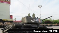 La parada de Ziua Victoriei la Tiraspol