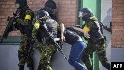 Тренировка чеченского спецназа, Гудермес, 25 июля 2019 года