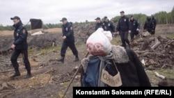 Кадр из фильма «Шиес. Осада» Юлии Вишневецкой и Константина Саломатина