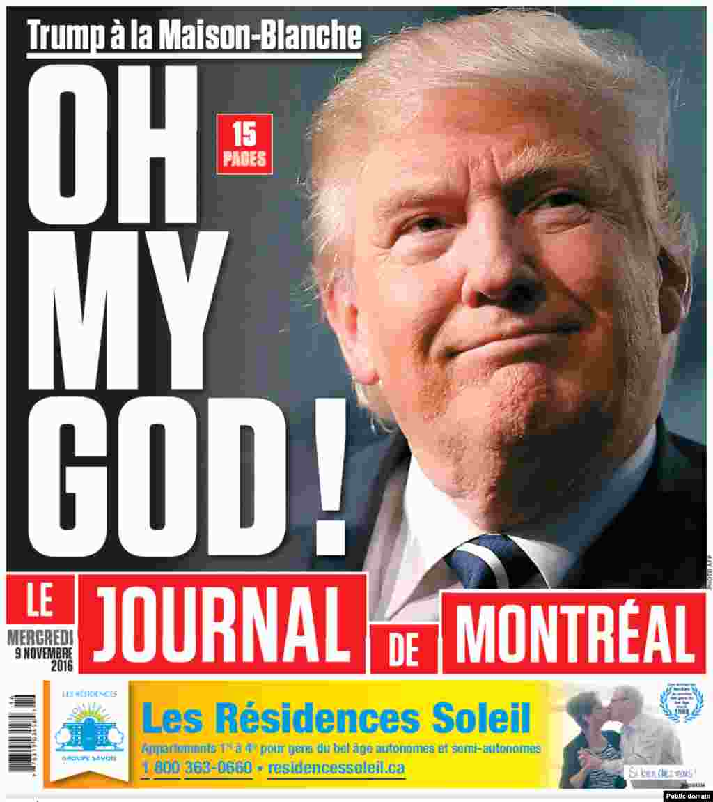 Canada's Le Journal de Montreal newspaper.