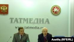 Әхмәт Мазгаров (с) һәм Ринат Закиров