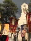 Priests Charged For Violating Montenegro COVID-19 Lockdown With Illegal Procession video grab 1
