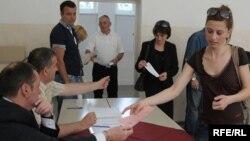 Glasanje u Crnoj Gori - ilustracija