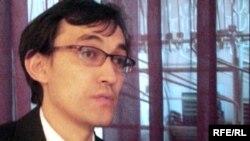 Поэт Кайырбек Кеменгер. Алматы, 28 октября 2009 года.