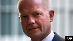 Британскиот министер за надворешни работи Вилијам Хејг