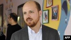 Сын премьер-министра Турции Билял Эрдоган. 21 апреля 2013 года.