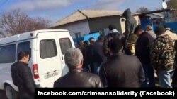 Обыск у Мустафы Мустафаева, Пушкино, 16 ноября 2017 года