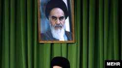 Ayatollah Ali Khamenei addresses Iranians on the anniversary of Ayatollah Ruhollah Khomeini's death.