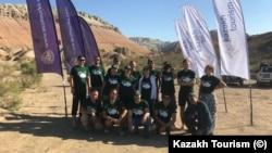 Участники экспедиции на Джунгарский Алатау / Фото Kazakh Tourism. Август, 2018 года.