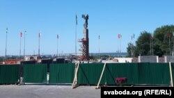 Плошча Славы і мэмарыял «Барацьбітам за савецкую ўладу»