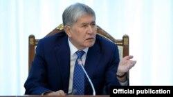 Алмазбек Атамбаев.