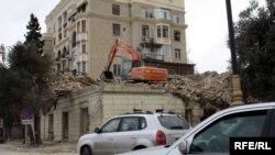 Разрушенное здание было занесено в список архитектурных памятников Азербайджана UNESCO, 9 января 2009 года