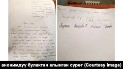 Встречное заявление Улана Раимбекова.