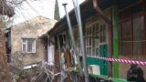 Наслідки обвалення підпірної стіни в провулку Ломоносова в Ялті, архівне фото