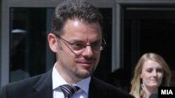 Зоран Ставрески, министер за финансии.