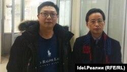 """Заместитель генерального директора """"Сычуань-Чувашия"""" Чжан Лан (справа)"""