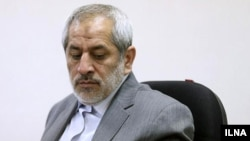 "Tehran prosecutor Abbas Jafari-Dolatabadi ""referred to a six-year prison sentence for an agent of England's intelligence service."" (file photo)"