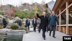 Владимир Путин в Крыму. 23 ноября 2018 года