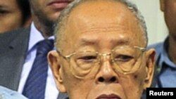 Former Khmer Rouge Foreign Minister Ieng Sary