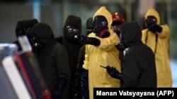 O operațiune de decontaminare pe aeroportul internațional de la Kuala Lumpur după asasinarea lui Kim Jong-Nam