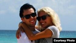 Илья Смирнов с женой Ольгой